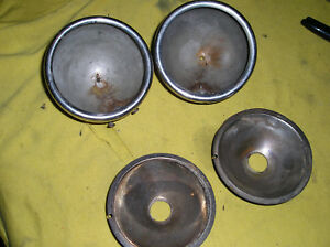 2 Original Model A Ford Cowl Light Parts 1930 1931