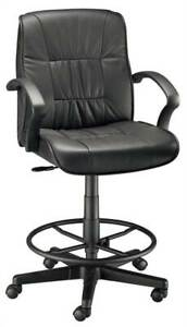 Art Director Executive Leather Drafting Chair id 20986