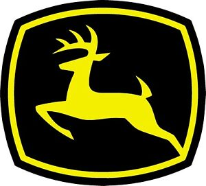 John Deere Logo Decal Sticker 3m Usa Made Truck Helmet Vehicle Window Wall Car