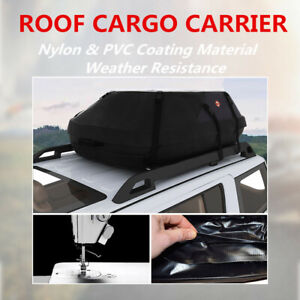 Waterproof Roof Top Cargo Carrier Bag For Luggage Travel Car Storage Bag 41inch