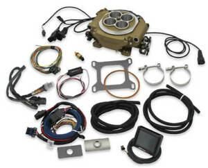 Holley 550 516 Sniper Efi Self tuning Fuel Injection System Classic Gold