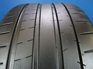 Used Michelin Pilot Super Sport Mo1 285 30zr 20 7 8 32 Tread 1817f