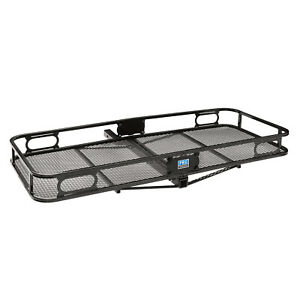 Pro Series 63153 Trailer Hitch Cargo Carrier Black