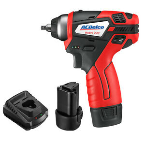 Acdelco 1 4 Impact Wrench G12 Series 12v Tool Kit Ari12104 2t tool Only
