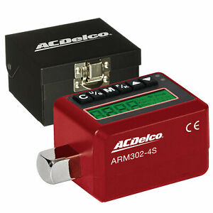 Acdelco Arm302 4s 1 2 Electronic Digital Torque Adapter 12 5 250 7 Ft Lbs