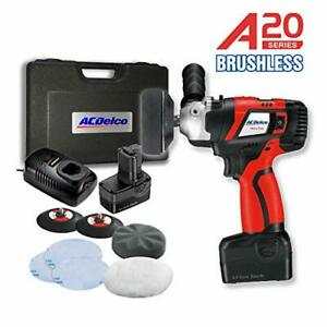 Acdelco 3 Mini Sander polisher Kit 20v 2 speed With 2 Battery Ars2016