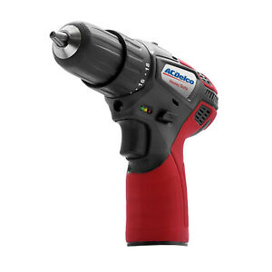 Acdelco G12 12v 3 8 Cordless Drill Driver 265 In lbs Tool Only Ard12119t