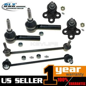 6x New Front Suspension Kit Sway Bar Link Tie Rod Ends For 2002 2007 Saturn Vue