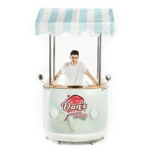 Cotton Candy Food Cart Stand For Cotton Candy Machine Food Tracks