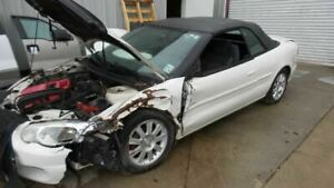 Rear View Mirror Convertible With Map Light Fits 01 06 Sebring 179517