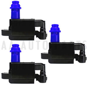 Uf228 High Performance Ignition Coil 3pcs For Lexus Sc300 Gs300 Is300 V6 3 0l
