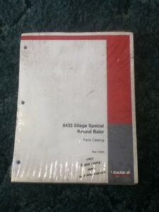 7 2931 A New Parts Catalog For A Caseih 8435 Silage Special Round Baler