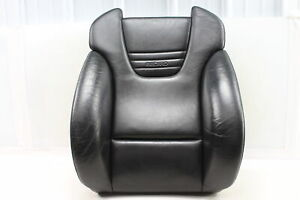 2004 2005 Audi S4 B6 Front Right Recaro Upper Seat Back Cushion