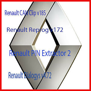 Renault Can Clip V185 Reprog V172 Pin Extractor 2 Dialogys V4 72 4 In 1