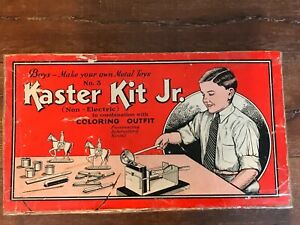 1930's A C GILBERT KASTER KIT Jr LEAD TOY SOLDIER  # 3 CAVALRY Lead Mold Dipper