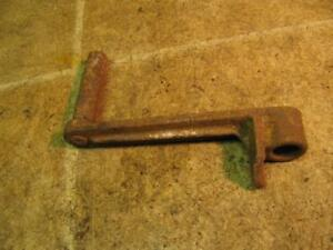 Hit N Miss Engine Hand Starter Crank Start Marked Do Not Spin Pull Up Only