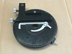 Zeiss Microscope Rotary Stage 165mm