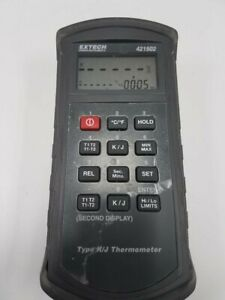 Extech Instruments 421502 Type J k Thermometer With Alarm