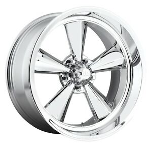 Cpp Us Mags U104 Standard Wheels 15x7 15x8 Fits Ford Mustang Falcon Galaxie