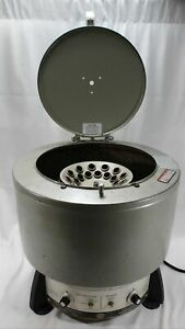 Iec Clinical Centrifuge Hn 24 place 15ml 33 Fixed Angle Rotor 1 7 Hp Model 815