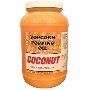 Paragon Coconut Popcorn Popping Oil gallon Sports Outdoors