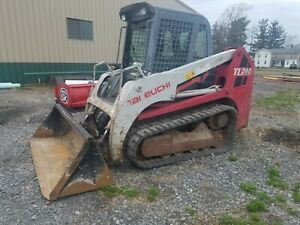 2010 Takeuchi Tl240 Track Skidsteer Tl240 86hp Aux Hydraulics Air