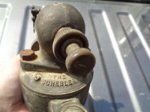 Antique The Schebler Hit And Miss Engine Or Tractor Dx 268 Brass Carburetor