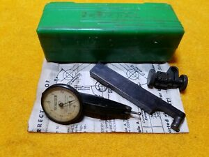 Federal Testmaster Jeweled Machinist Tools Dial Indicator 0001 Graduation