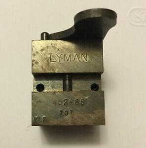 Lyman 452488. 195 grain semi wad-cutter 45 caliber Bullet mold Ideal RCBS 45 ACP