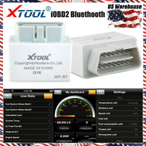 Xtool Iobd2 Obd2 Eobd Auto Diagnostic Scanner For Iphone android By Bluetooth Us