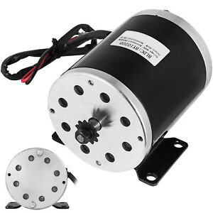 36v Dc 800w Electric Motor For E bike Scooter 25h 11t Sprocket 2800rpm Mope