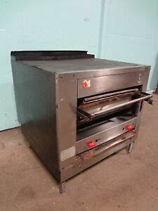 Heavy Duty Commercial the Montague Co Natural Gas Char Broiler Salamander