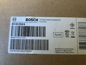 Sealed Brand New In Box Bosch D1255 Security System D7412gv4 Excellent