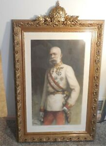 Antique Extra Large 30 X 44 Rococo Gilt Gold Wood Frame