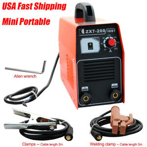 200amp Inverter Welding Machine 220v Igbt Inverter Welding 20 200a Mma Welder Us
