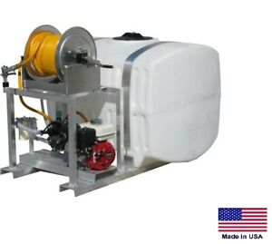 Sprayer Commercial Skid Mounted 9 5 Gpm 580 Psi 200 Gallon Tank 27mhr
