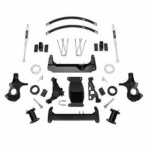 6 0 Inch Knuckle Suspension Lift Kit With Aluminium Knuckles And Ngs Shocks