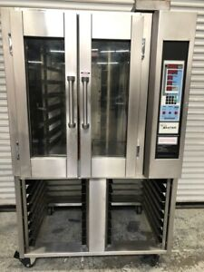 Rotating Mini Rack Bakery Convection Oven Gas Baxter Advantage Ov300g 9604