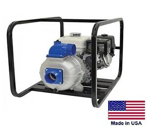 Trash Pump Centrifugal Commercial 3 Ports 22 200 Gph 48 Psi 8 Hp Honda