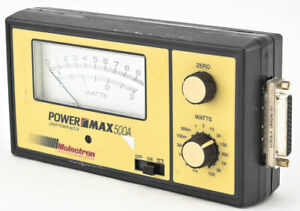 Molectron Detector Power Max Pm500a Pm500 500a Analog Watt Laser Power Meter