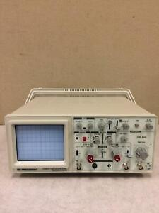 Bk Precision 2120b 20mhz Oscilloscope Used Working Free Shipping Great Deal