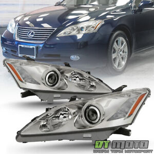 For 2007 2008 2009 Lexus Es350 Hid Xenon W Afs Headlights Headlamps Left Right