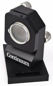 Continuum Industrial Lab Laser Optic Angled Kinematic 3 screw 1 25 Mirror Mount