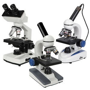 Multiple Choice Biological Science Student Compound Microscope 40x 1000x 2000x
