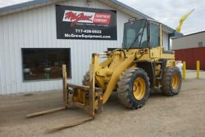 2005 New Holland Lw80b Wheel Loader Erops Heat air 2965hrs 72hp Diesel Hydrostat