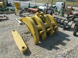 Excavator 5 Finger Grapple Heavy Duty Low Use Fits Many Makes models