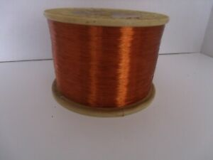 30 Awg Enamel Coated Copper Magnet Wire Coil Winding 9 Lbs 8 5 Ounces