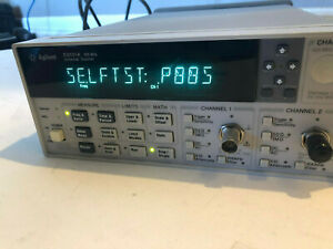 Hp Agilent 53131a 225 Mhz Universal Counter Nice