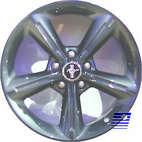 03834 Refinished Ford Mustang 2010 2012 18 Inch Wheel Custom Pvd Chrome Painted