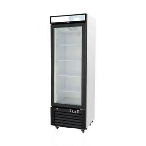 1 Glass Door Merchandiser Refrigerator Cooler Migali C 10rm hc New 9622 Nsf